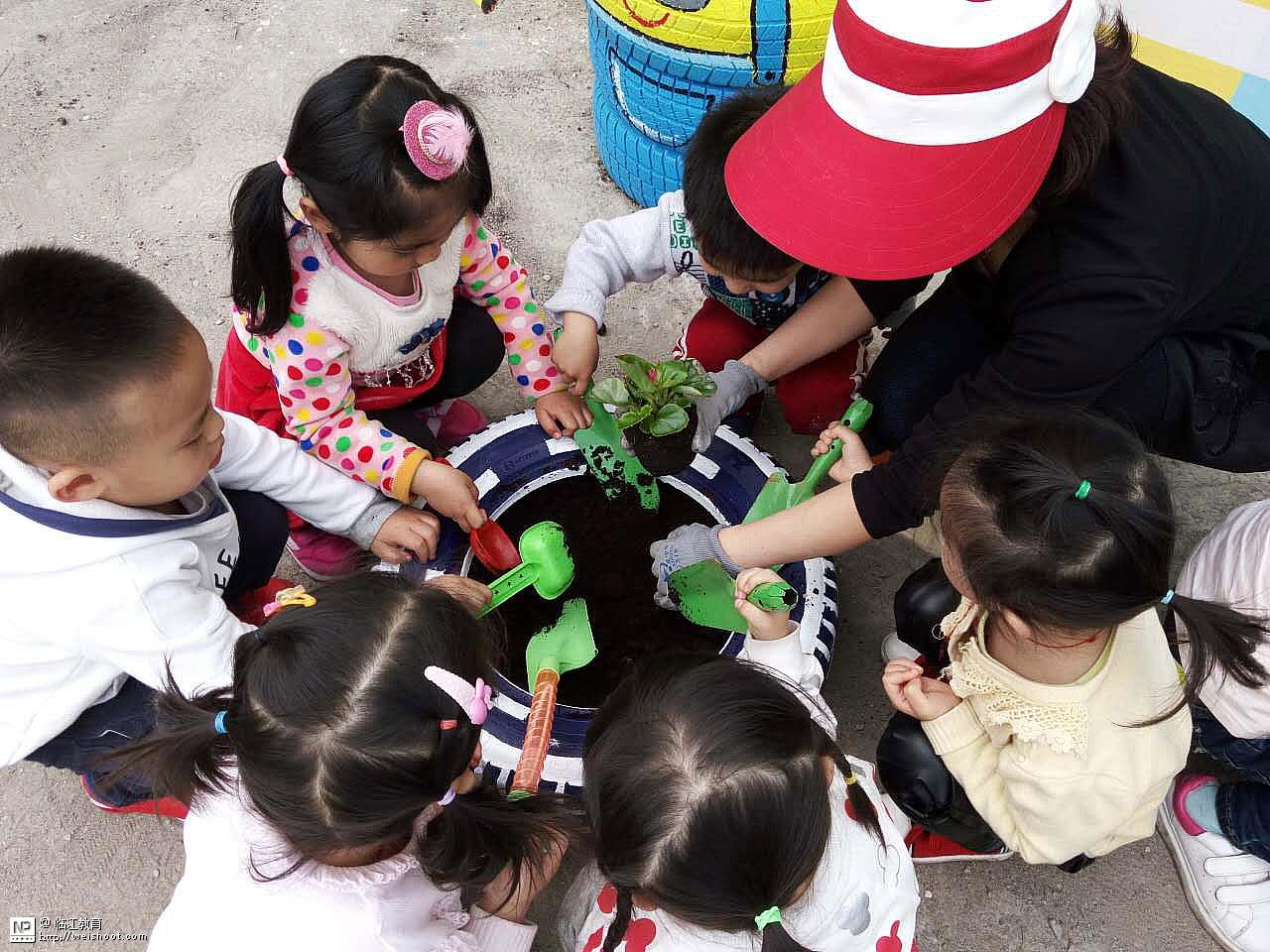 市幼儿园举行轮胎创意制作评比活动