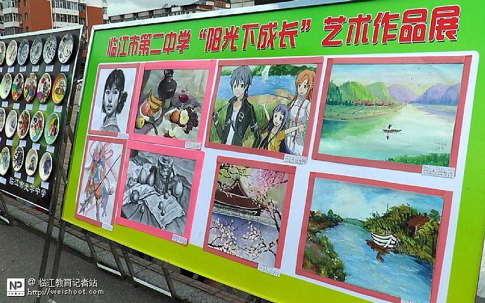 市第五届艺术节艺术作品展板(12)